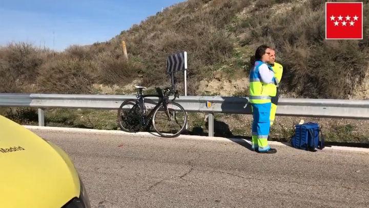 Fallece atropellado un ciclista de 58 años en carretera M-823 en Rivas