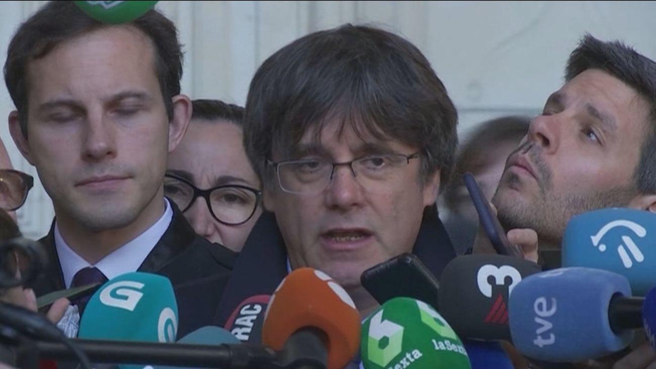Puigdemont pide al Supremo que anule la euroorden y archive su causa