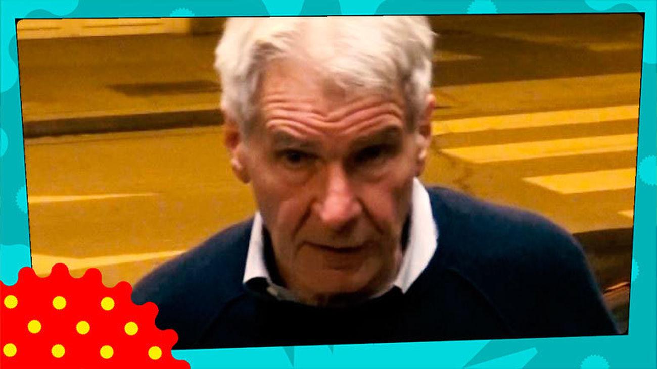 ¿Qué hace Harrison Ford en Madrid?