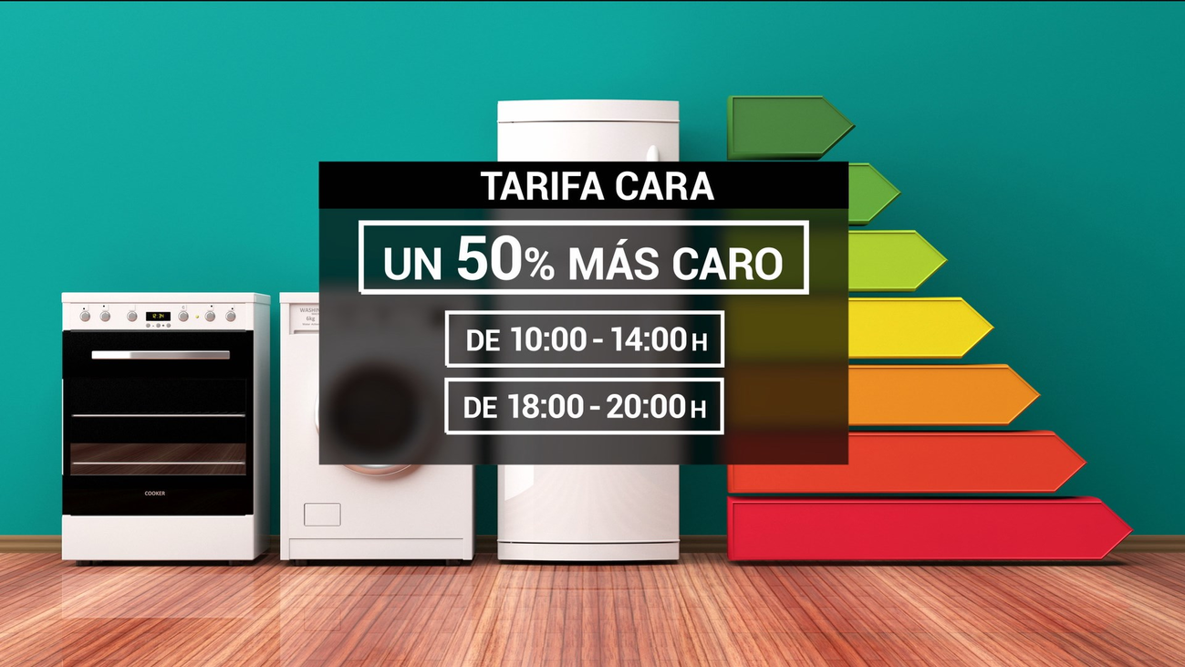 Cambios en las tarifas de la luz según el horario de consumo