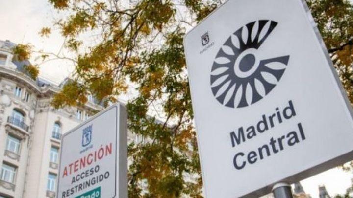 Los últimos cambios en Madrid Central