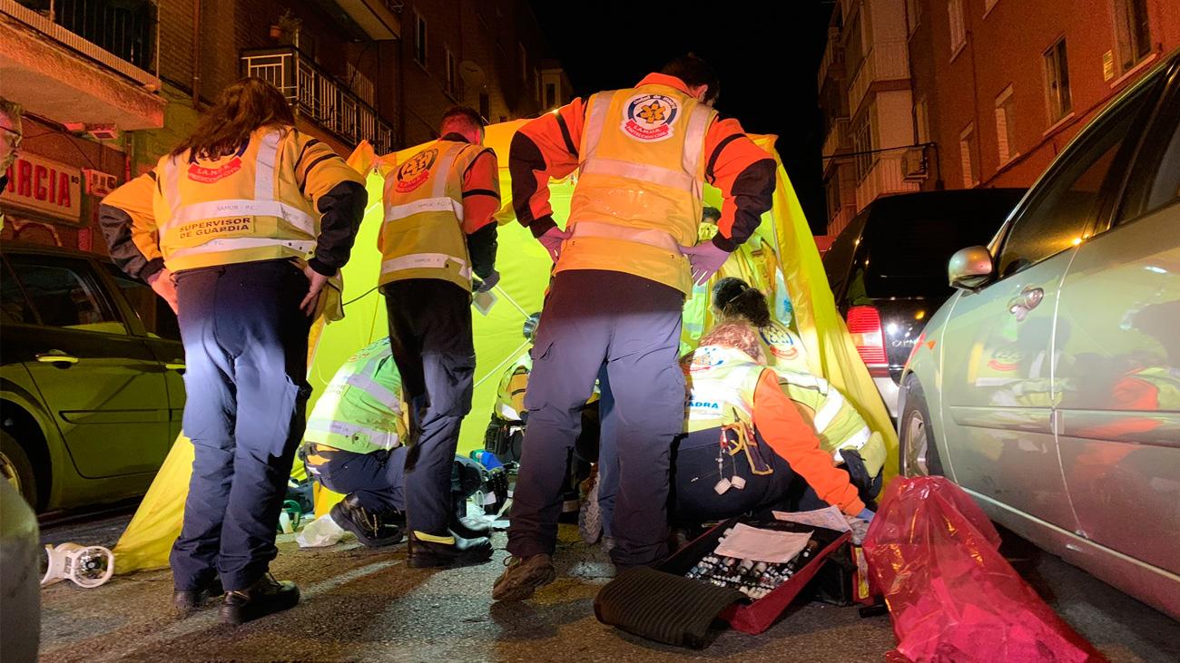 Un joven de 23 años muere apuñalado en Vallecas