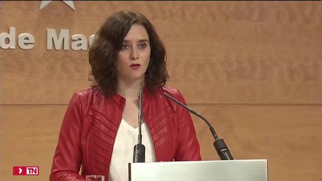 Madrid prorroga sus presupuestos de 2019 ante la falta de Gobierno de Sánchez