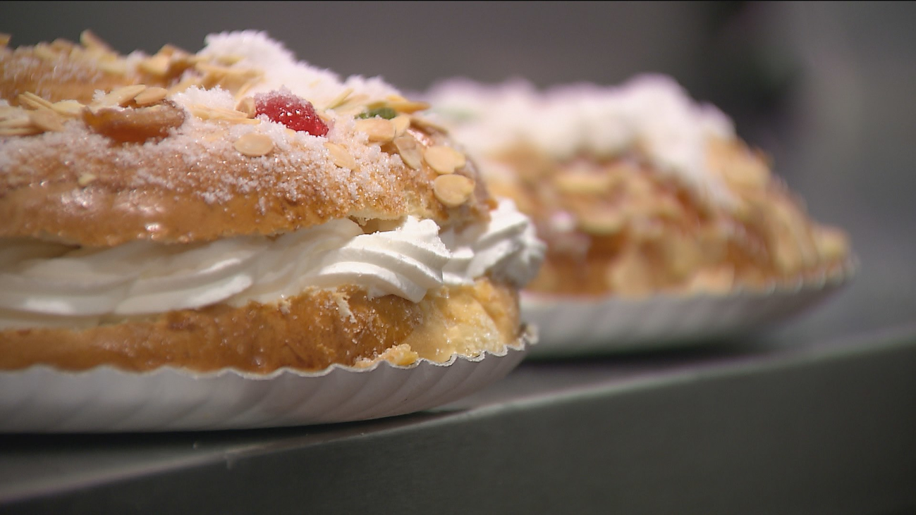 El roscón de Reyes con nata de Dia, el mejor calidad-precio, según la OCU