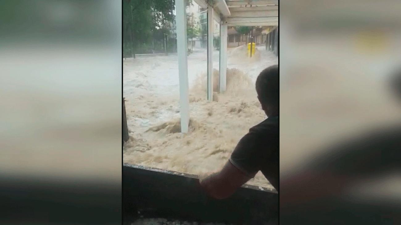 Paco, el vecino de Arganda que se jugó la vida durante las tormentas de agosto