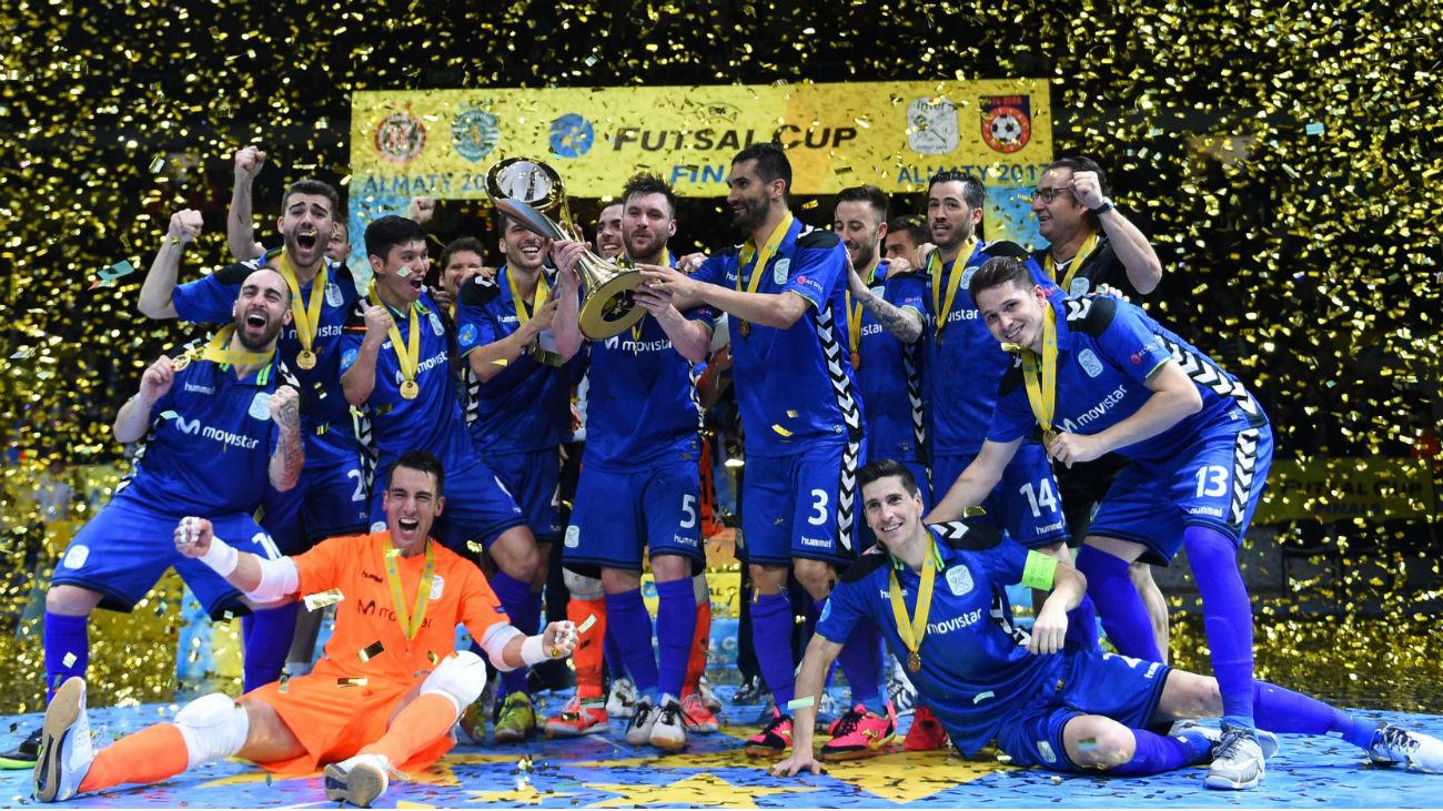 Movistar Inter, campeón de la Copa Futsal
