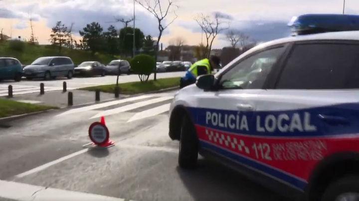 Detienen en Sanse a un conductor ebrio que se dio a la fuga tras atropellar a un ciclista en Madrid