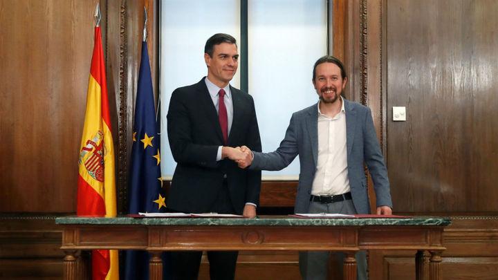 Estos son los puntos de acuerdos de Gobierno de Sánchez e Iglesias