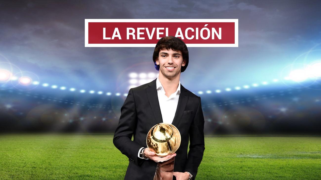 Joao Félix, premio Globe Soccer al mejor jugador revelación de 2019