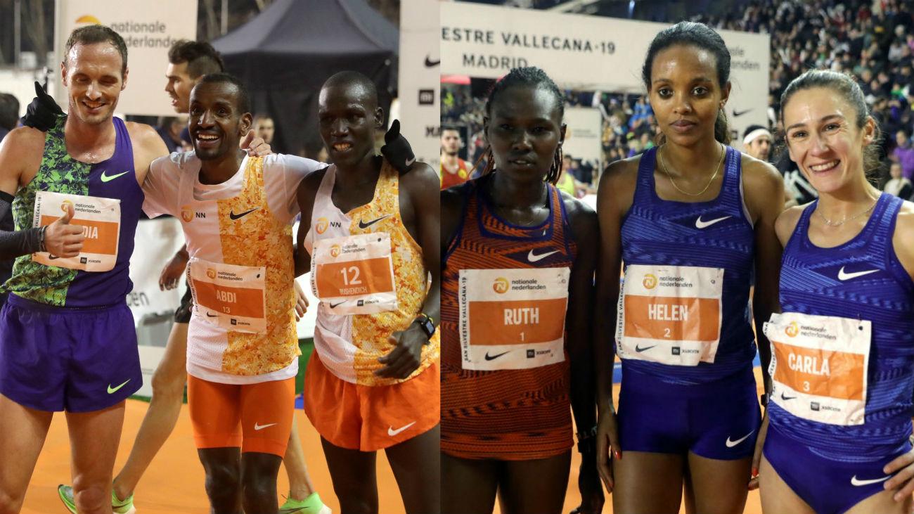 Bashir Abdi y Helen Bekele conquistan la San Silvestre Vallecana