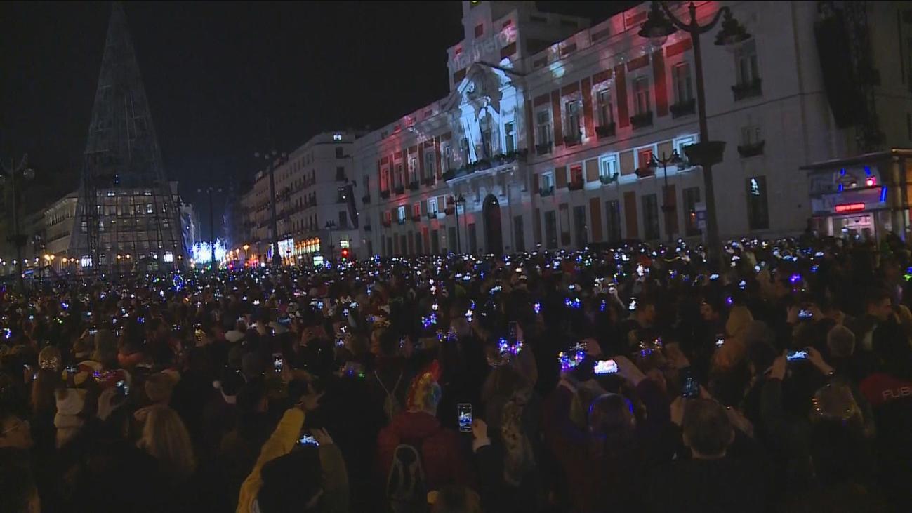 La Puerta del Sol, el corazón de la celebración de la entrada de 2020