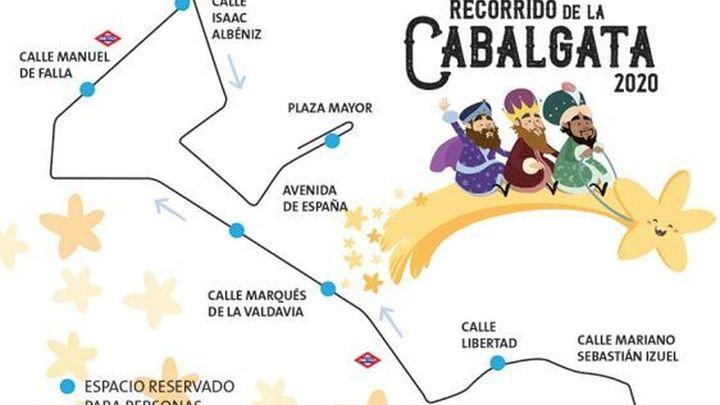La cabalgata de Alcobendas será geolocalizable gracias a un GPS