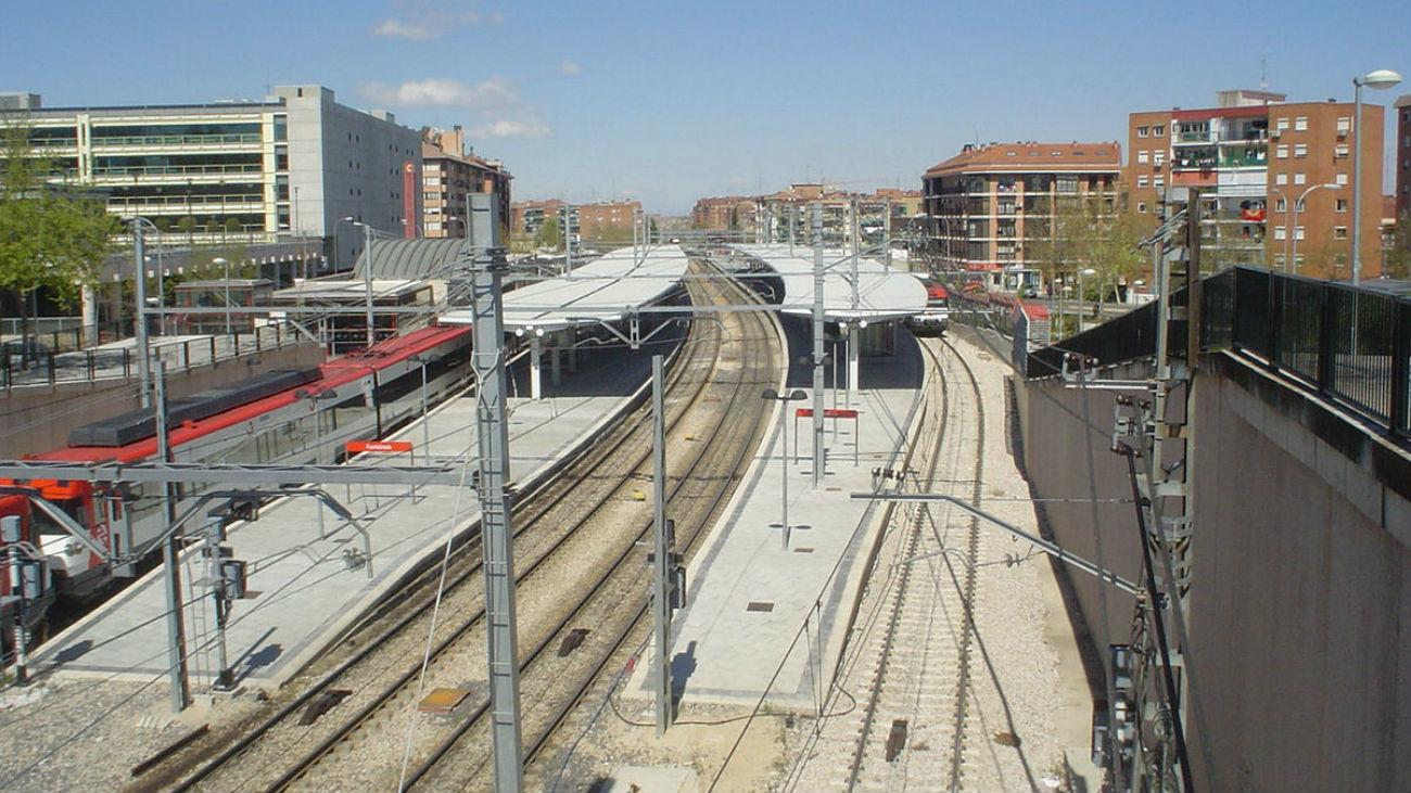 Estación de Cercanías de Fuenlabrada