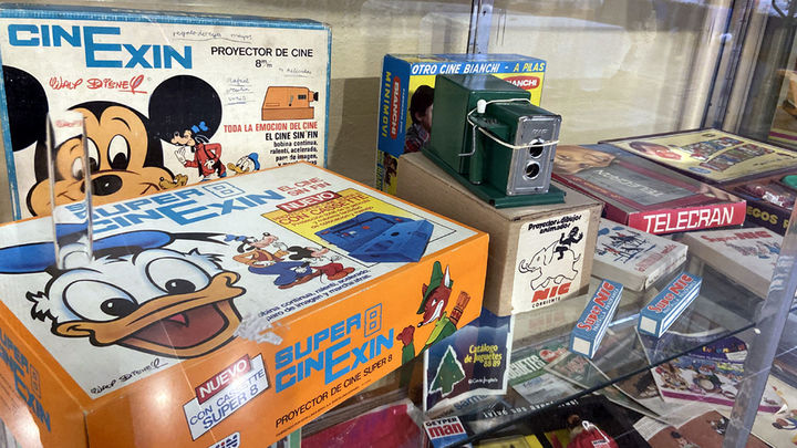 Una exposición muestra los juguetes que más pedían los niños de la EGB a los Reyes