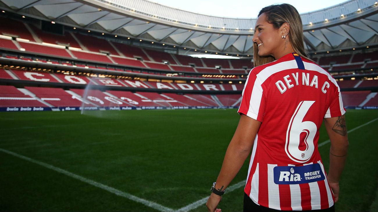 Deyna Castellanos, talento y goles para reflotar al Atlético