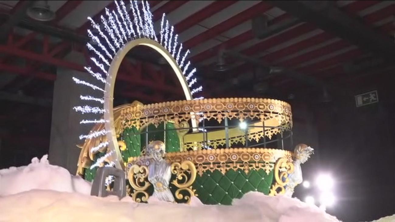 Así son las carrozas que desfilarán en la gran Cabalgata de Reyes de Madrid