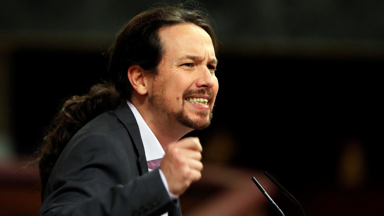 """Iglesias: """"Señor Casado, no vuelvan a la ideología totalitataria que les vio nacer"""""""