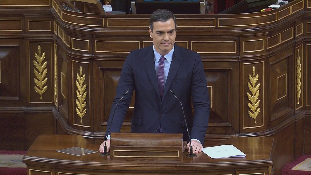"""Pedro Sánchez: """"No se va a romper España, no se va a romper la Constitución; se va a romper el bloqueo"""""""