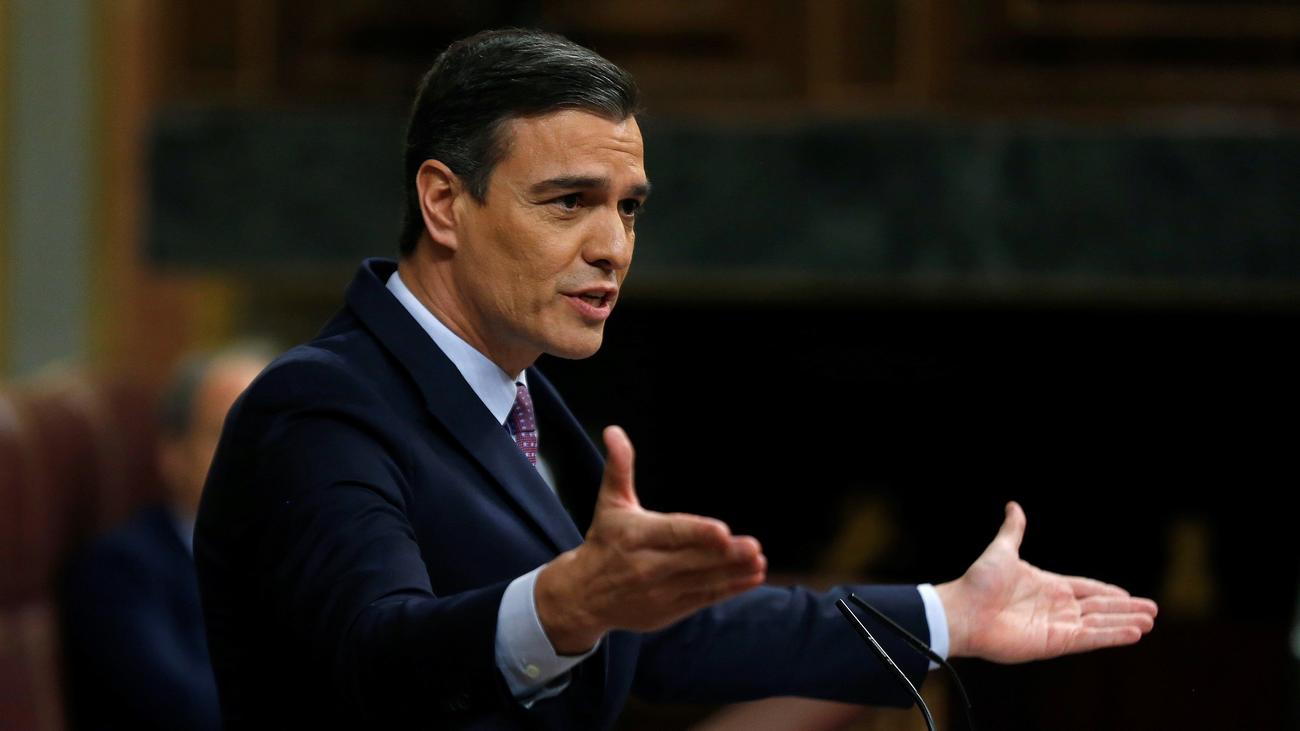 Las claves y anuncios principales del discurso de investidura de Pedro Sánchez