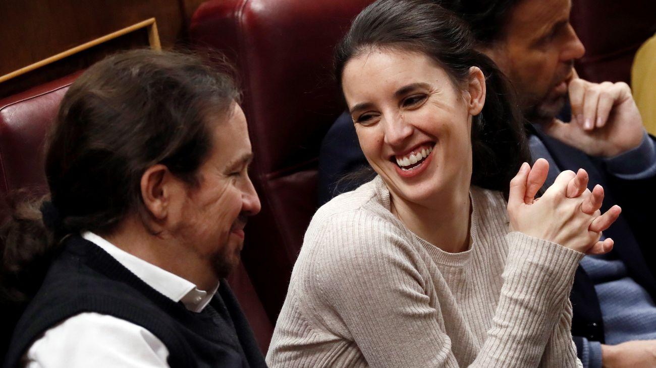 Unidas Podemos ya tiene sus ministros: Iglesias, Montero, Díaz, Castells y Garzón