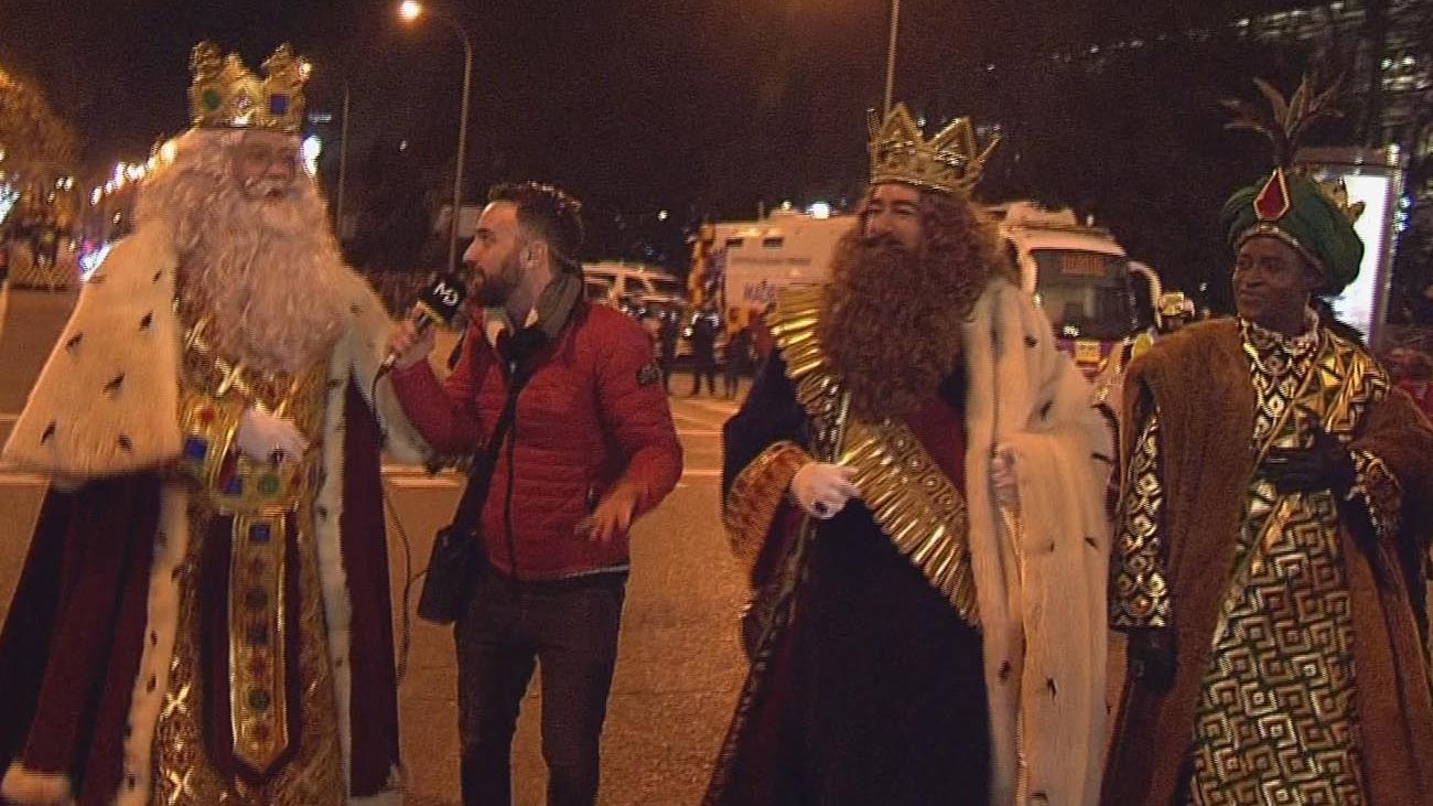 Los Reyes Magos, fieles seguidores de Madrid Directo