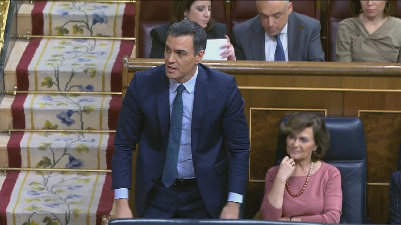Sánchez acude este martes a la segunda sesión de investidura con los apoyos justos