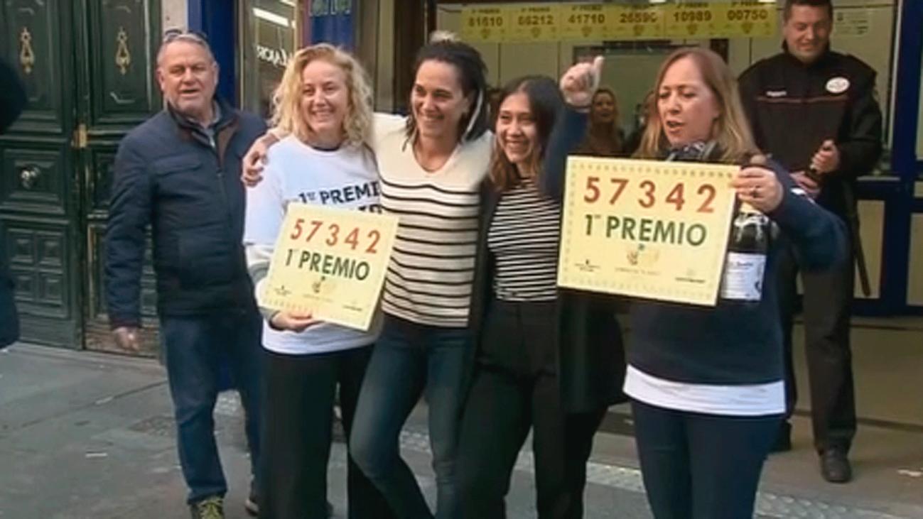 El número 57.342 trae la suerte de 'El Niño' a Madrid y Torrejón