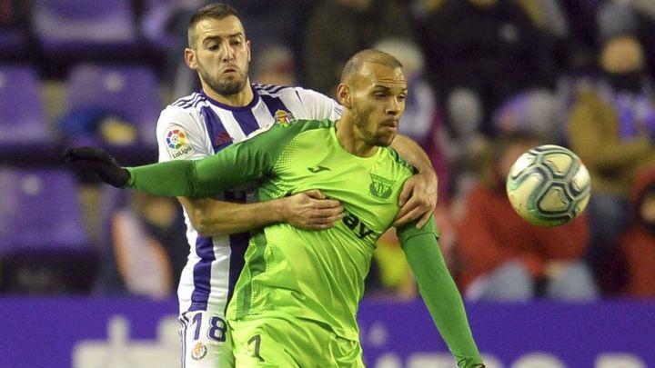 2-2. El Leganés suma un punto ante el Valladolid