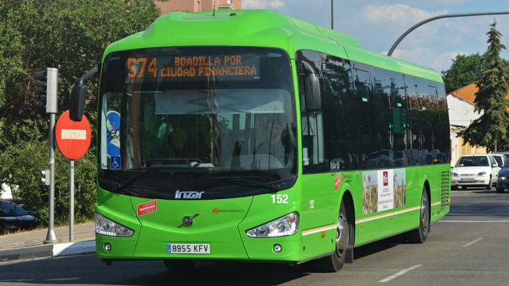 Boadilla hace un cambio temporal de horarios en las líneas de autobuses