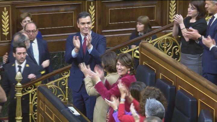"""""""Traición"""", """"valentía""""... las reacciones madrileñas tras la investidura de Pedro Sánchez"""