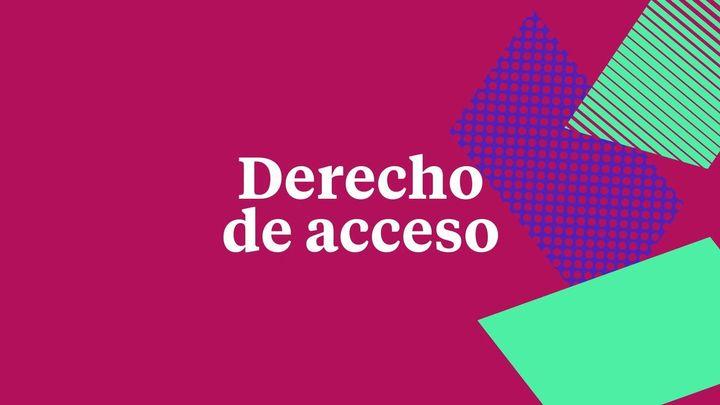 Logo Derecho de acceso