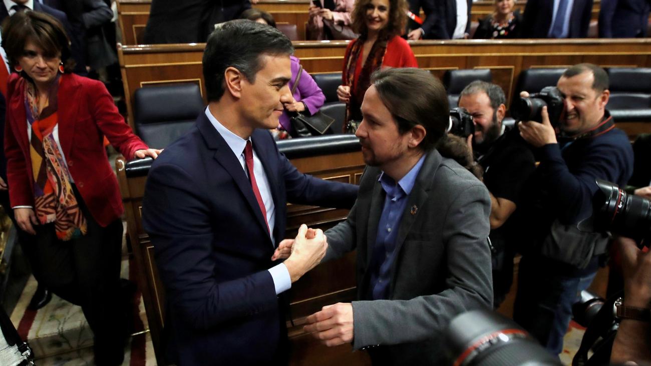 Fin a 253 días de un Gobierno en funciones en España