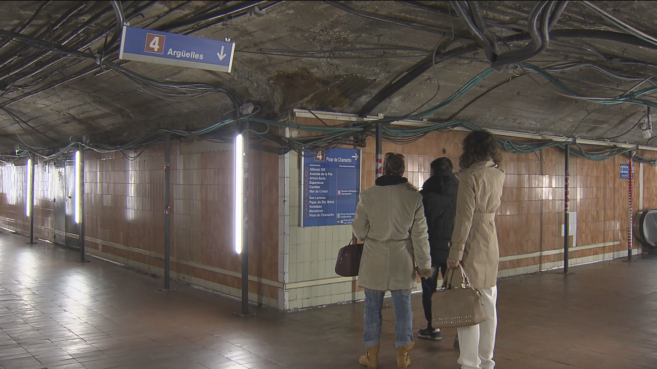 Ocho semanas de cierre por obras de la línea 4 de Metro de Madrid, a partir del 13 de enero