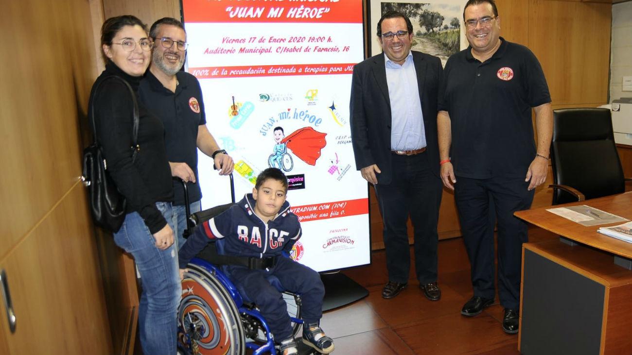 'Juan mi héroe', un festival benéfico a favor de un menor de Boadilla