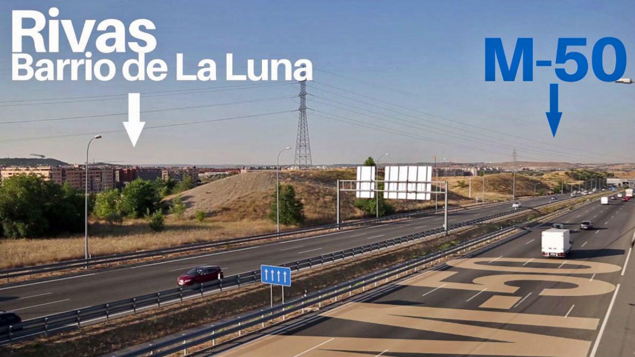 Rivas presenta el proyecto para conectar el municipio con la M-50