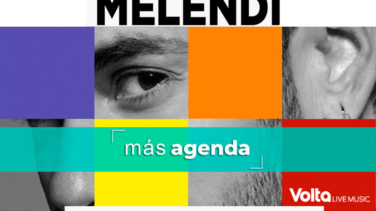 La agenda alternativa: Vuelve Melendi con su gira 'Mi cubo de Rubik'