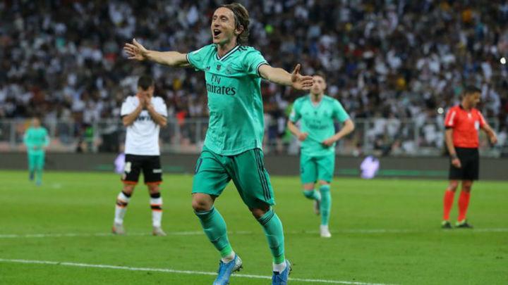 1-3. El Real Madrid, a la final de la Supercopa tras un recital