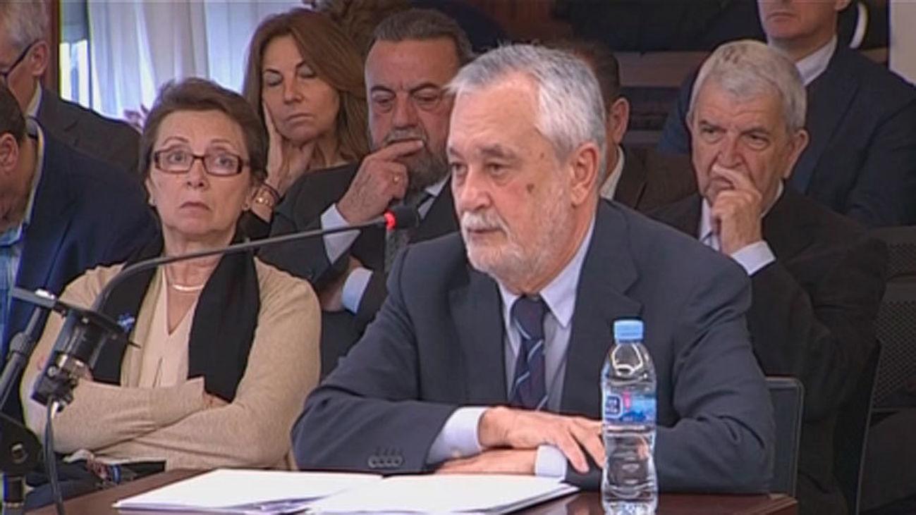 El expresidente de la Junta de Andalucía,José Antonio Griñán