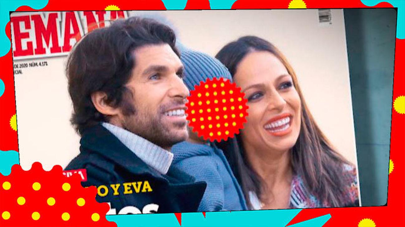 Eva González y Cayetano Rivera, ¿'juntos y felices', pero sin mirarse?