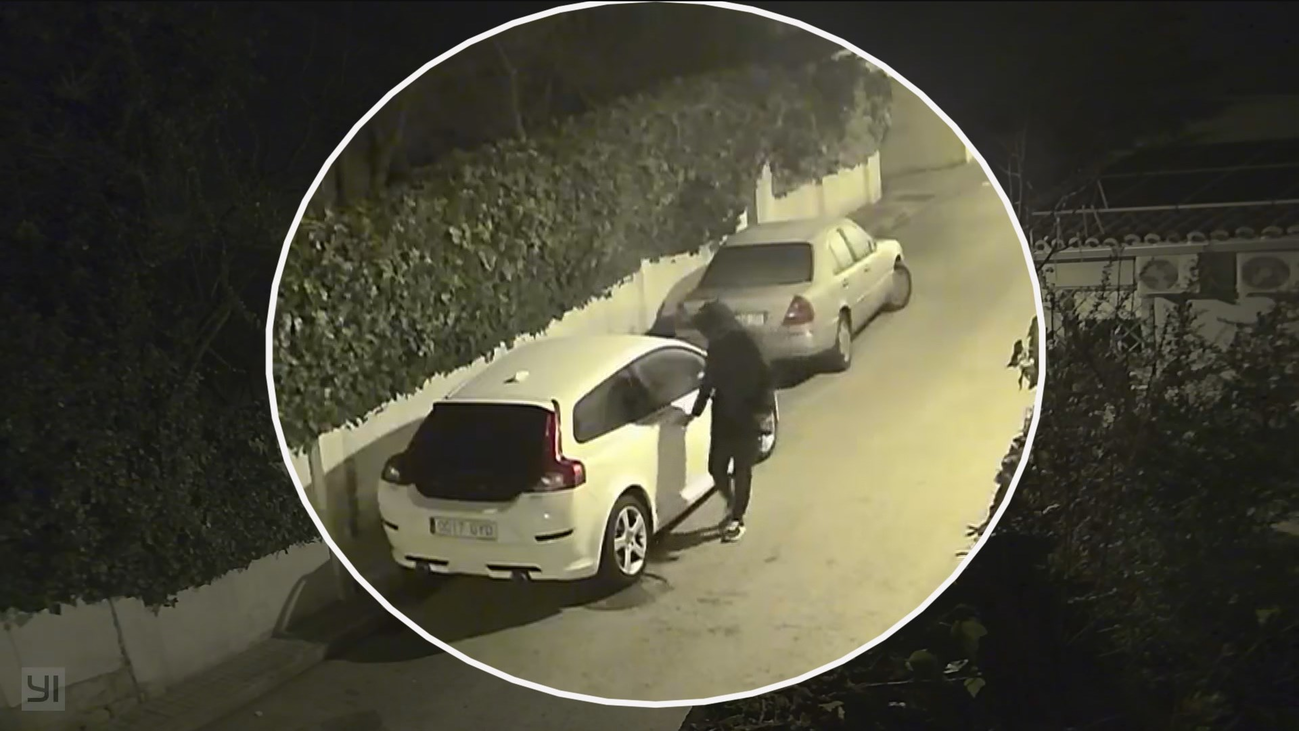 Cazados 'in fraganti' robando en coches de Pozuelo de Alarcón