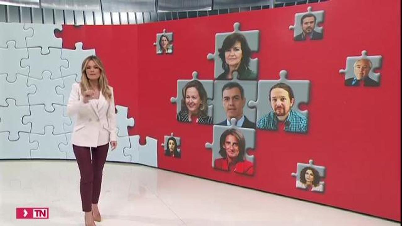 Sánchez comunicará sus ministros al Rey el domingo y el martes, primer Consejo de Ministros