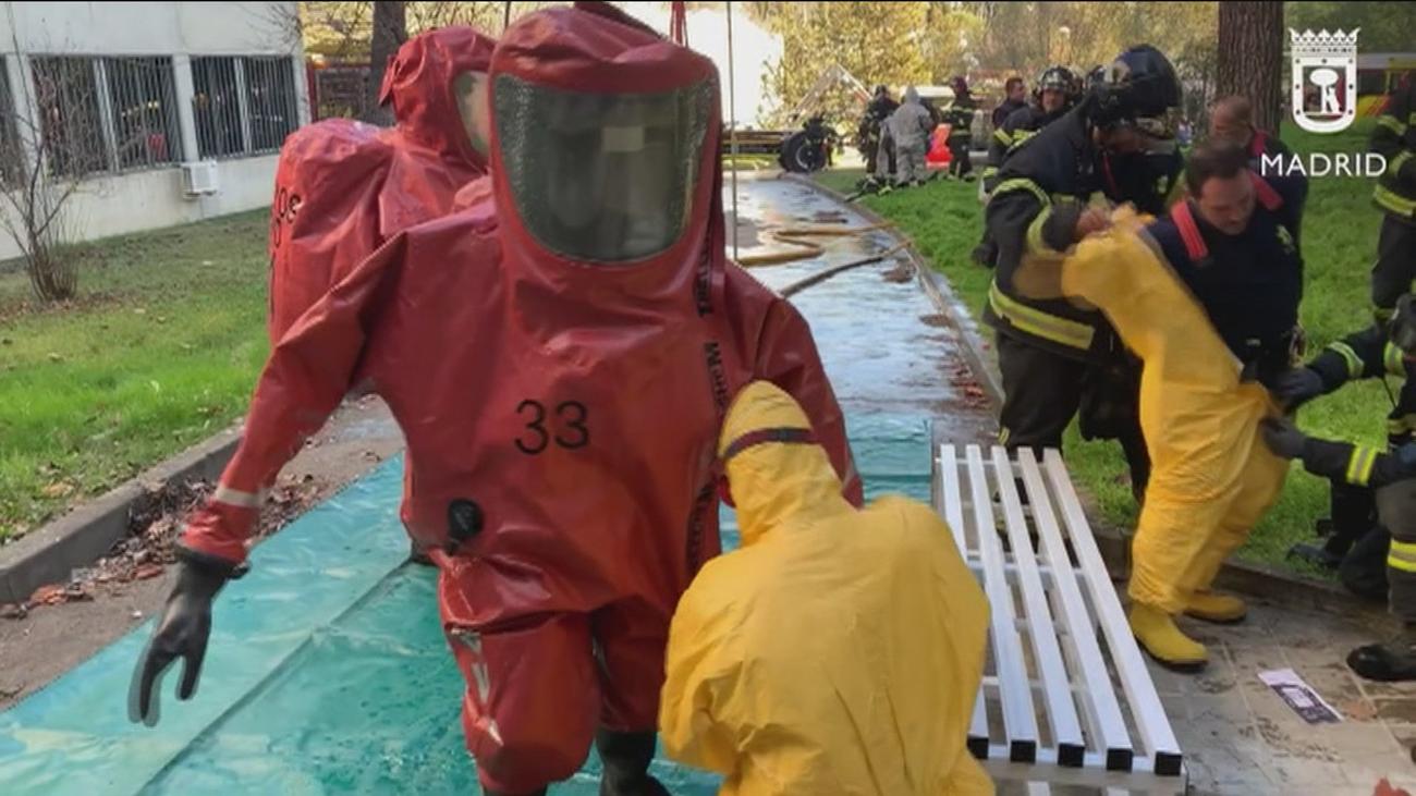 Una mezcla de ácidos provoca una pequeña explosión sin heridos en un laboratorio de la Autónoma