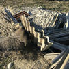 La Policía de Pinto localiza un vertido ilegal de material con amianto en un paraje rural