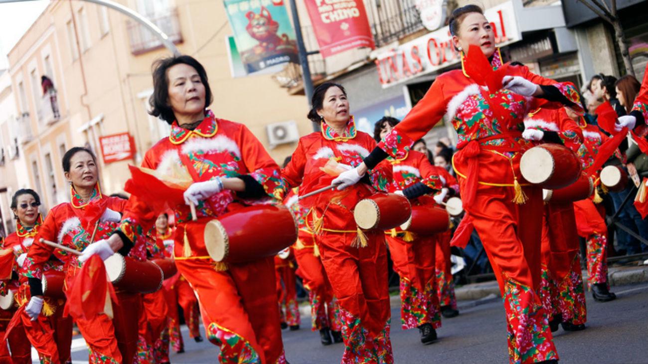 Año Nuevo Chino, en Usera