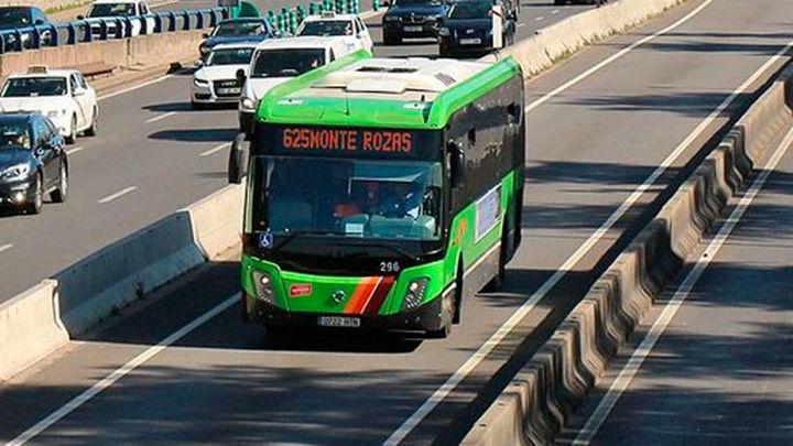 Las líneas 628 y 625 de bus sufrirán cambios el 13, 14 y 15 de enero en Las Rozas