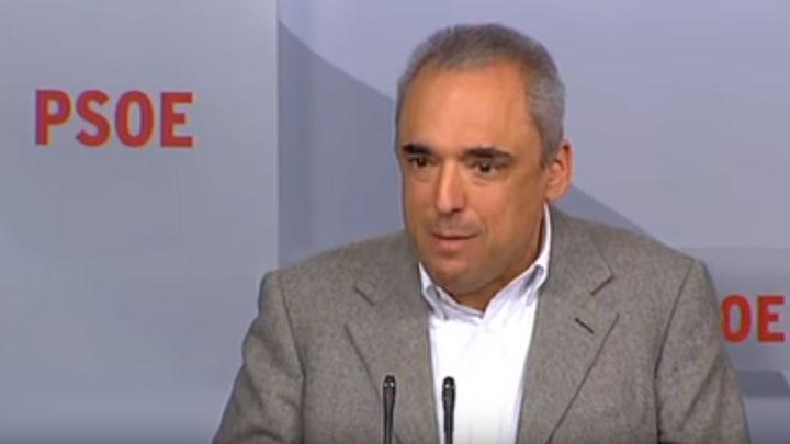 """Rafael Simancas: """"Con ERC no hemos hablado de amnistías"""""""