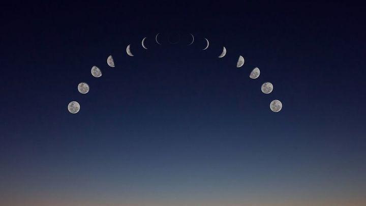 Hoy eclipse de luna