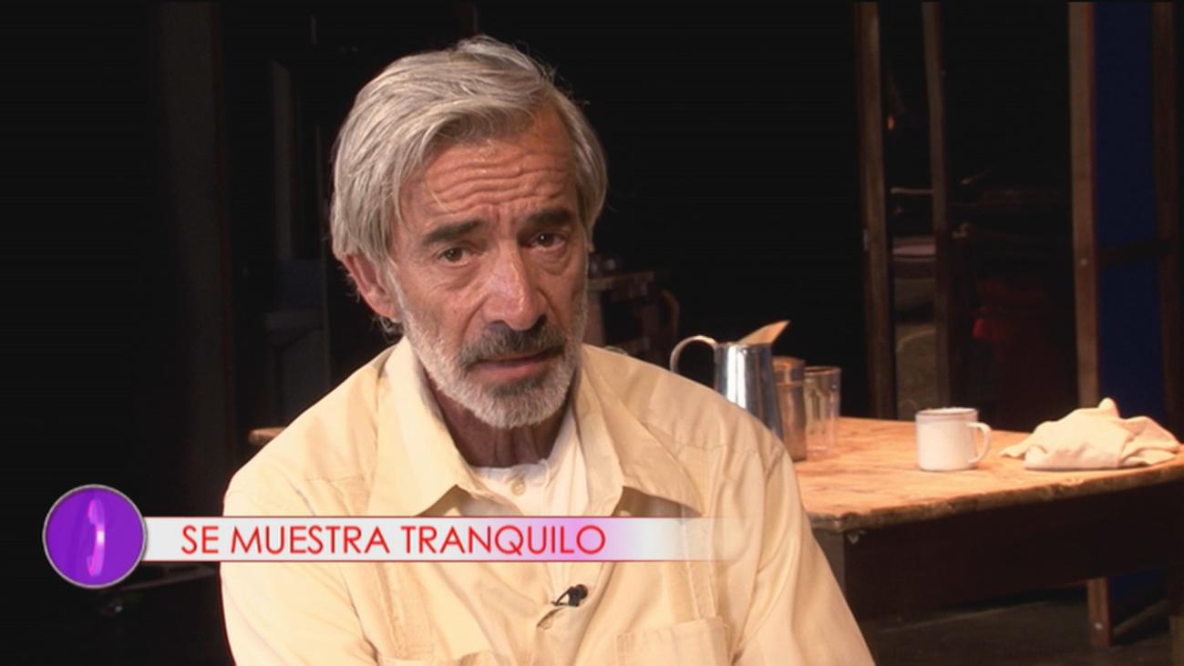 """Imanol Arias habla claro sobre sus problemas judiciales: """"Estoy tranquilo, ya he cumplido"""""""