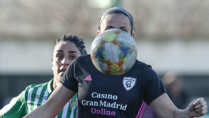 2-0. El Madrid CFF se va de vacío ante el Betis