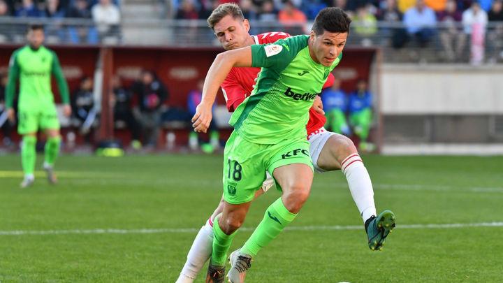 0-4. El Leganés pasa de ronda de Copa ante el Murcia